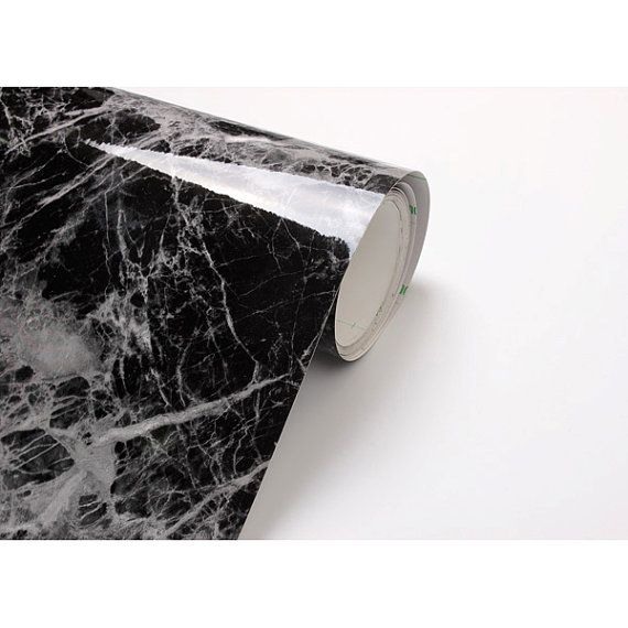 Black Granite 2m Bg I401 Counter Top Marble Effect Vinyl Self