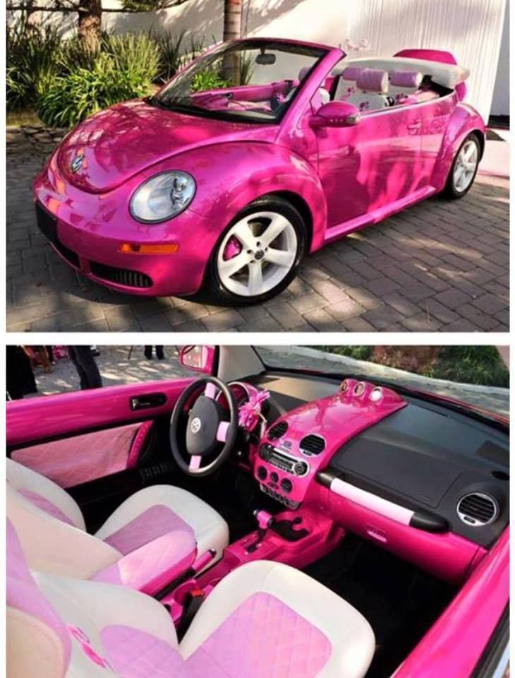 A Real Life Barbie Car So Cute Would You Drive It Via The Keeper Of Cheerios Blog