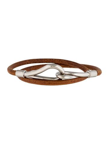 Herm�s Jumbo Hook Wrap Bracelet