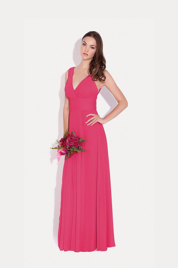 Encantador Vestidos De Dama De Honor De La Orquídea Ideas Ornamento ...