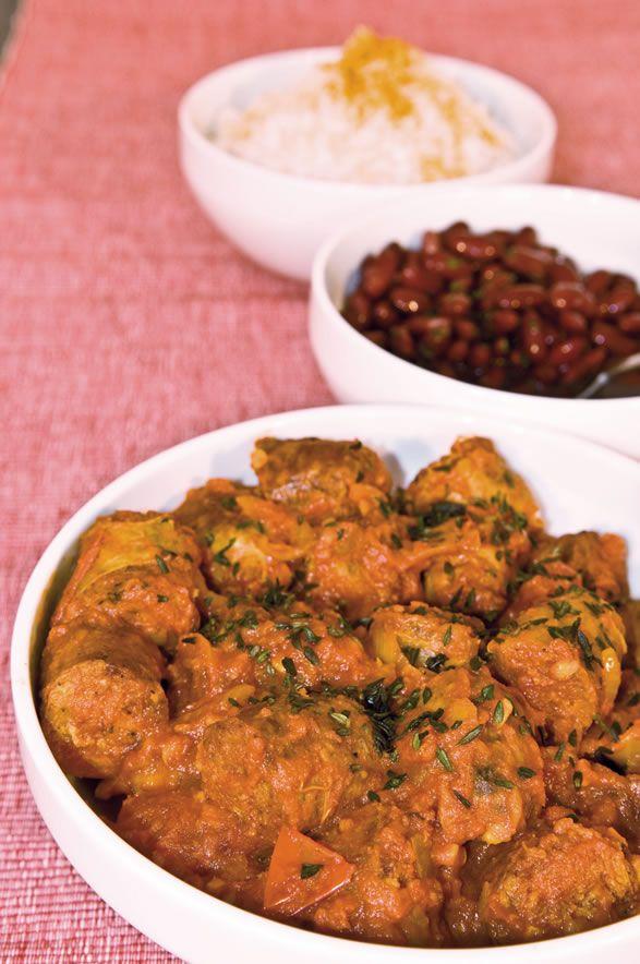 Recette r unionnaise recette rougail saucisse cuisine cr ole plats pinterest rougail - Cuisine reunionnaise recette ...