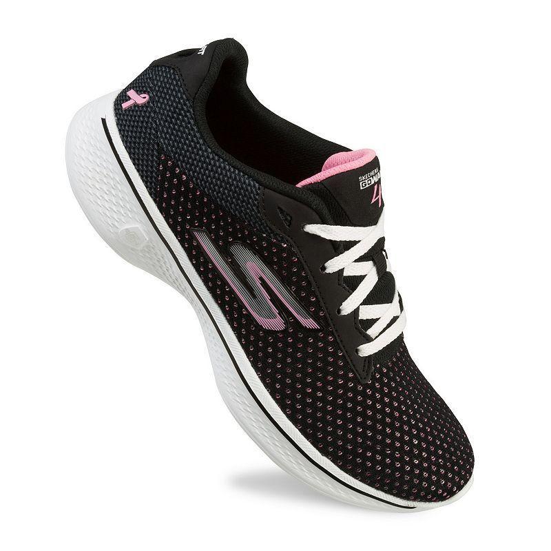 cbdd3d3e47 Skechers GOwalk 4 Empower LX Breast Cancer Awareness Women's Walking Shoes,  Size: 9.5, Green Oth