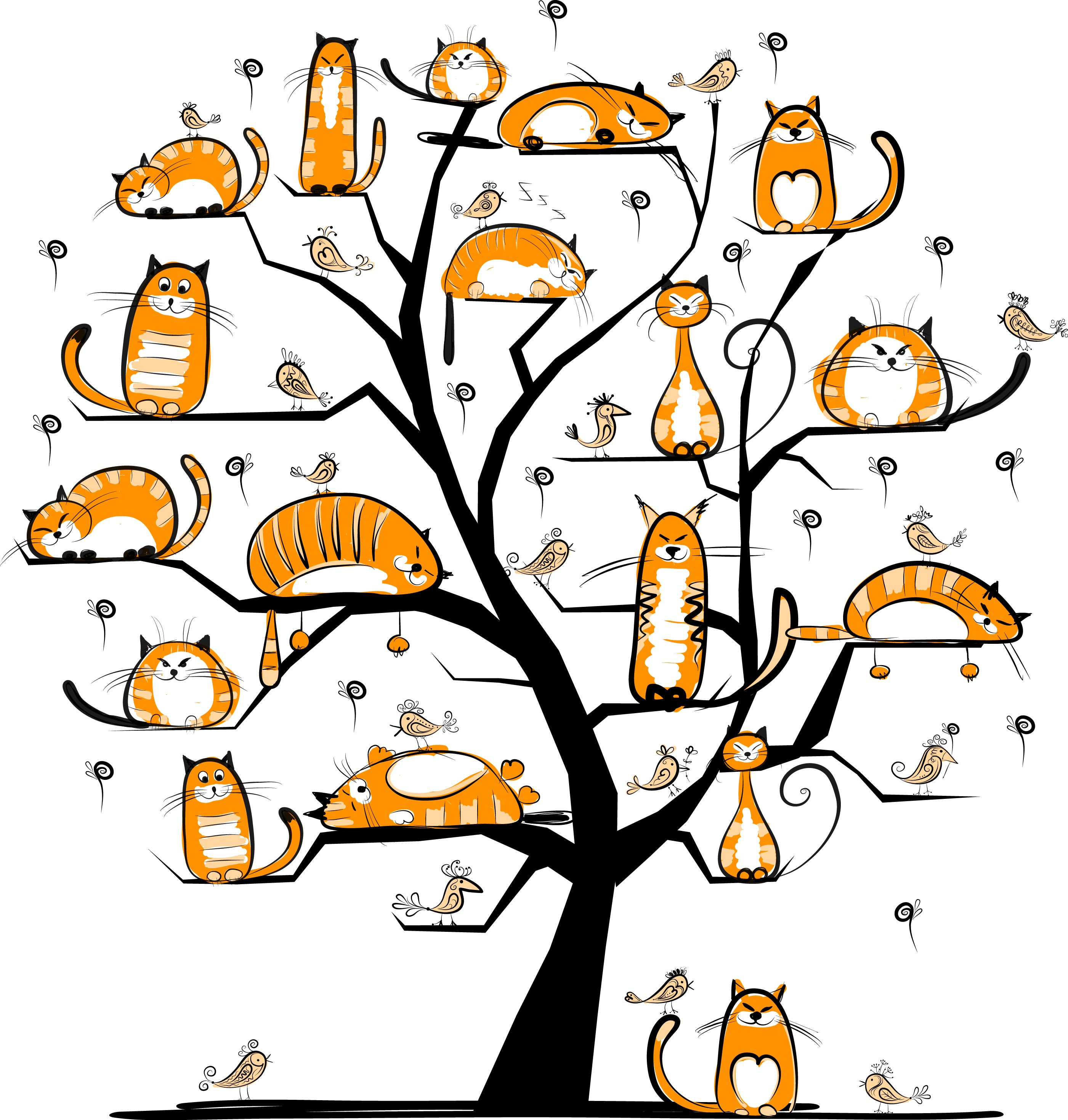 Смешные рисунки с деревьями