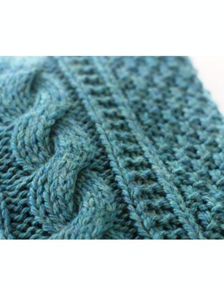 Cabled Baby Afghan - Knitting Patterns and Crochet Patterns from ...