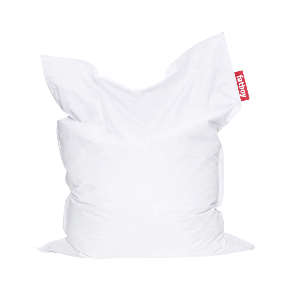 The Original Lounge Bean Bag, White (With images) Fatboy