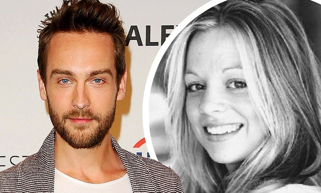 Tom Mison and wife Charlotte Coy
