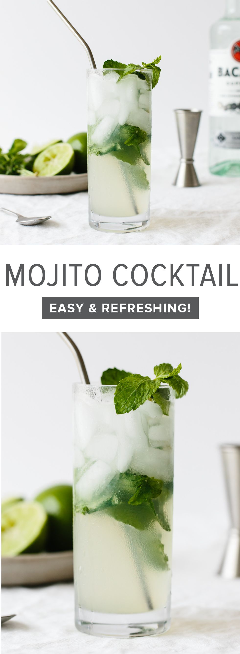 The Mojito (a Classic Cuban Cocktail) Is A Blend Of Rum