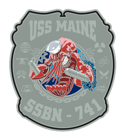 USS Maine SSBN741 Navy Rate Shirt 1776 US NAVY SHIRTS