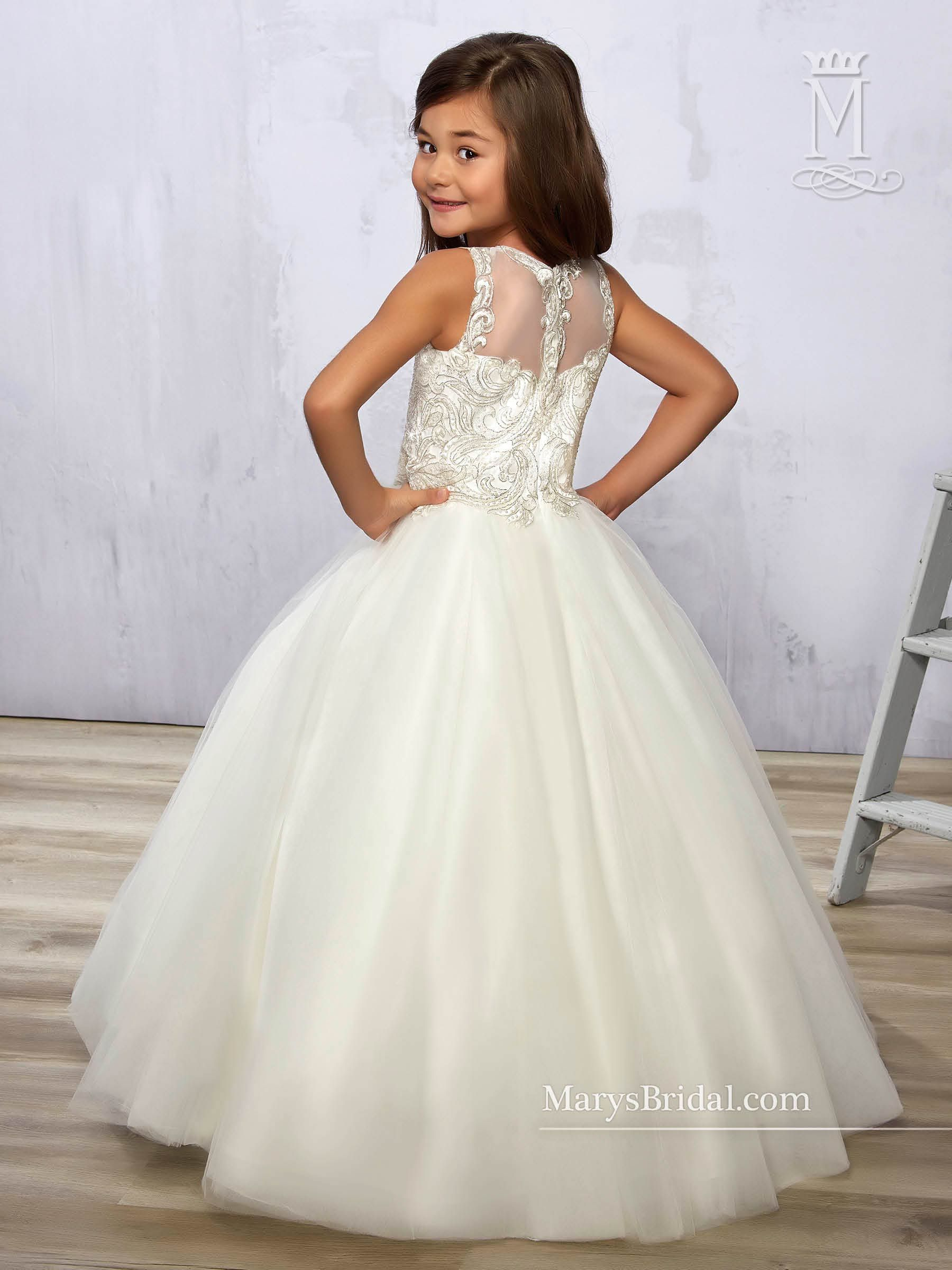 Angel Flower Dresses Mary S Angels Style F574
