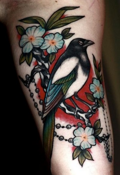 Pretty tattoo by Anders Wester. #neotraditional