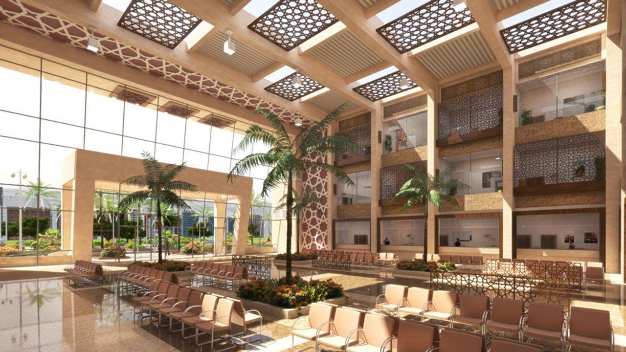 Best Our Design Tripoli Public Records Main Hall Interior 400 x 300