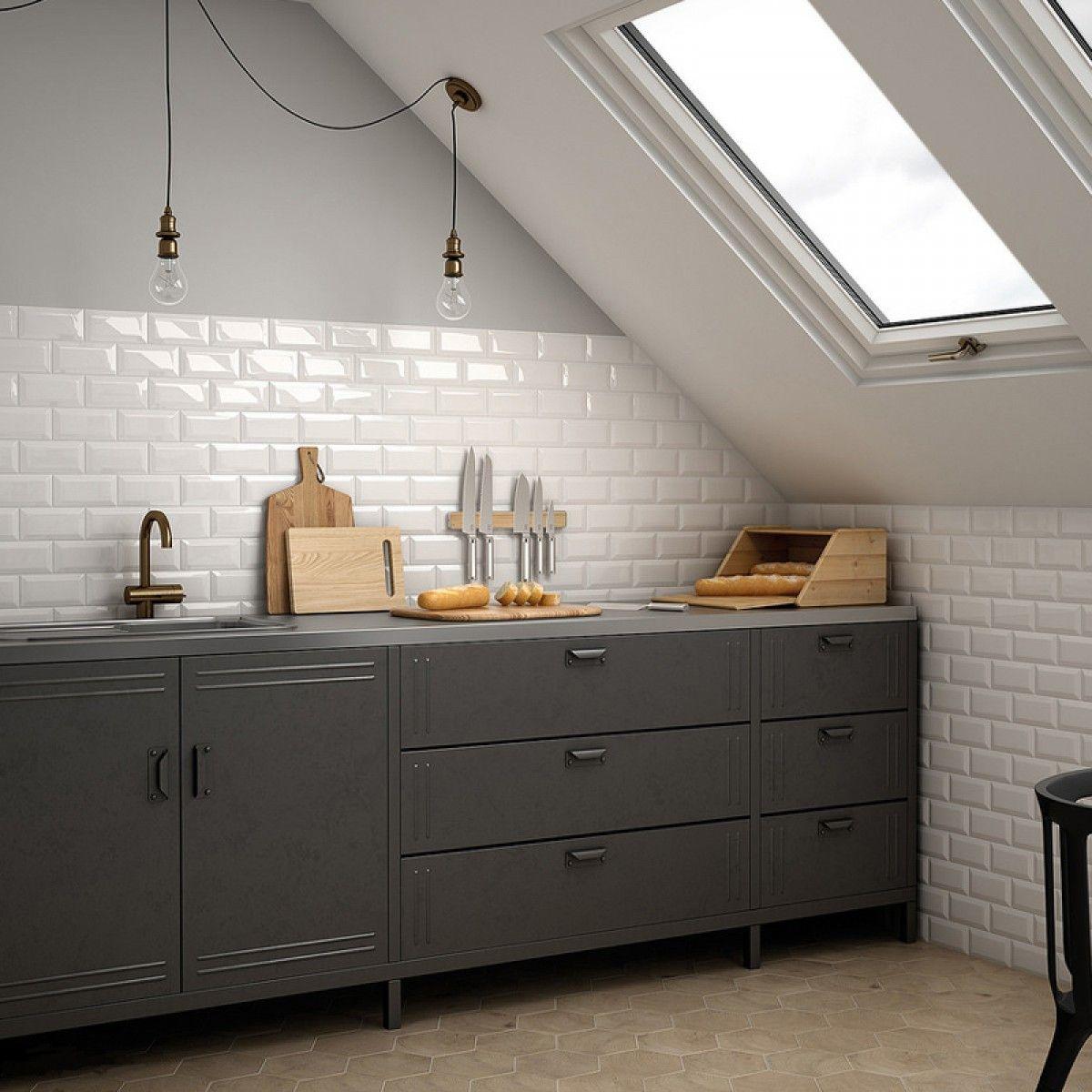 Mini Metro White Wall Tile. SKU - 329255. www.crowntiles.co.uk ...