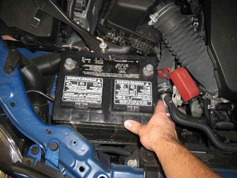 2009 Corolla Battery