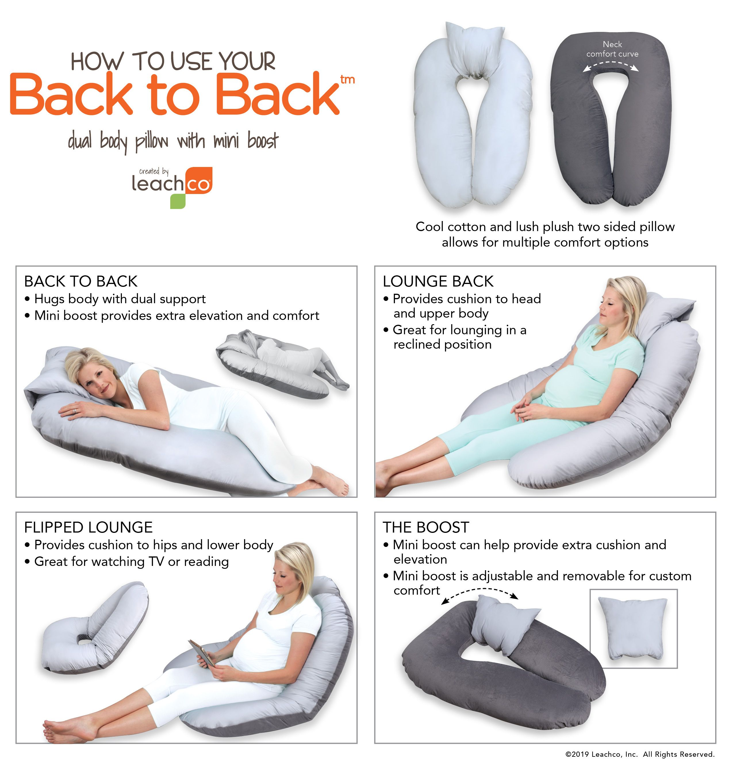 Back To Back In 2020 Body Pillow Body Cushion Postpartum Care Kit