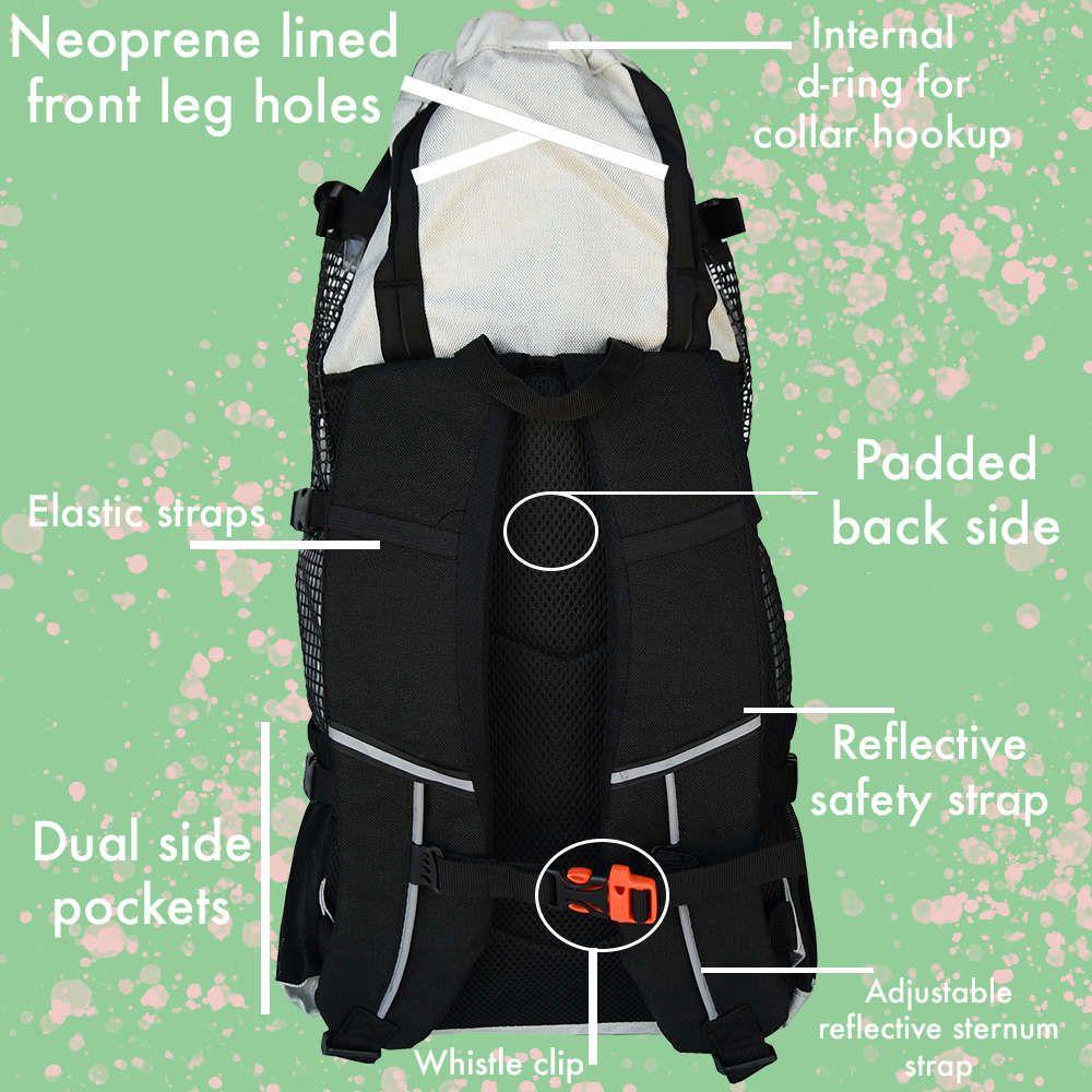 Air plus Dog backpack carrier, Dog carrier, Backpacks