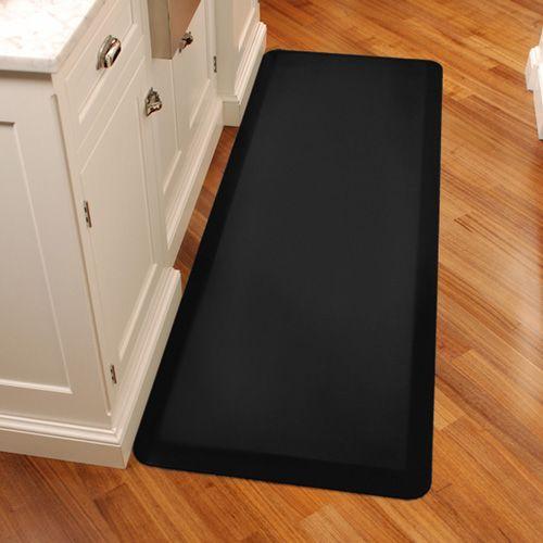 Wellnessmats Antifatigue Kitchen Mats 6 X 2 Black 187 42 Kitchen Mat Kitchen Home Kitchens