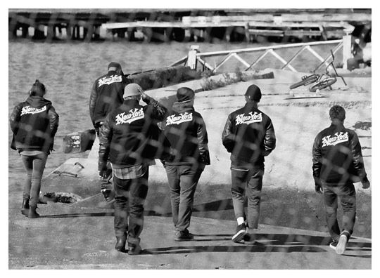 the latest f1b4f a919d From Tim Barber s photostory on iconic NIKE Destroyers.Striped Jacket   topmode  nicefashion  kelly751  ramirez701  StripedJacketwww.2dayslook.com