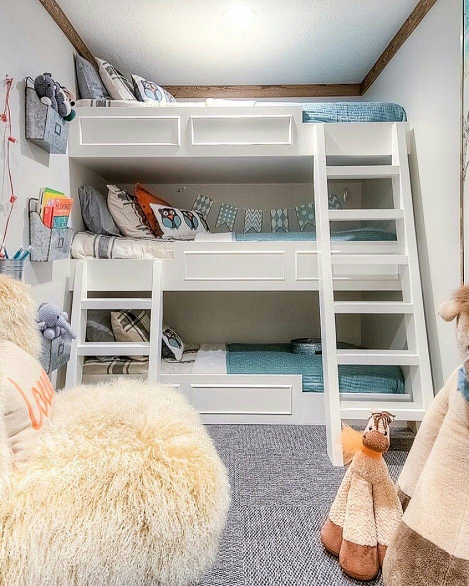 habitaciones compartidas para niños
