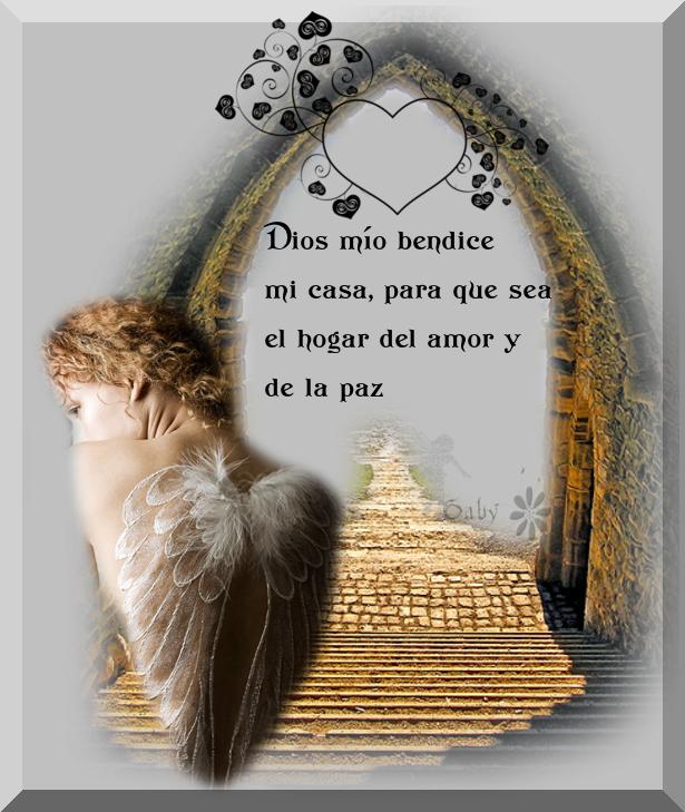 Dios m o bendice mi casa para que sea el hogar del amor y for Casa de articulos para el hogar