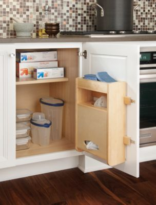 Plastic Bag Storage Kit - Schuler Cabinetry | my new kitchen | Pinterest