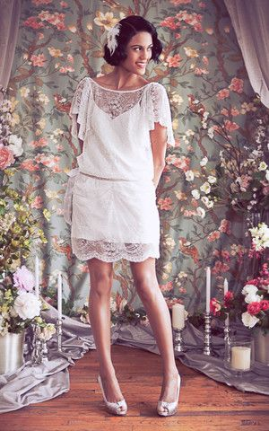Love this! Daisy Dress Schone Bridal made in NYC - mix and match design