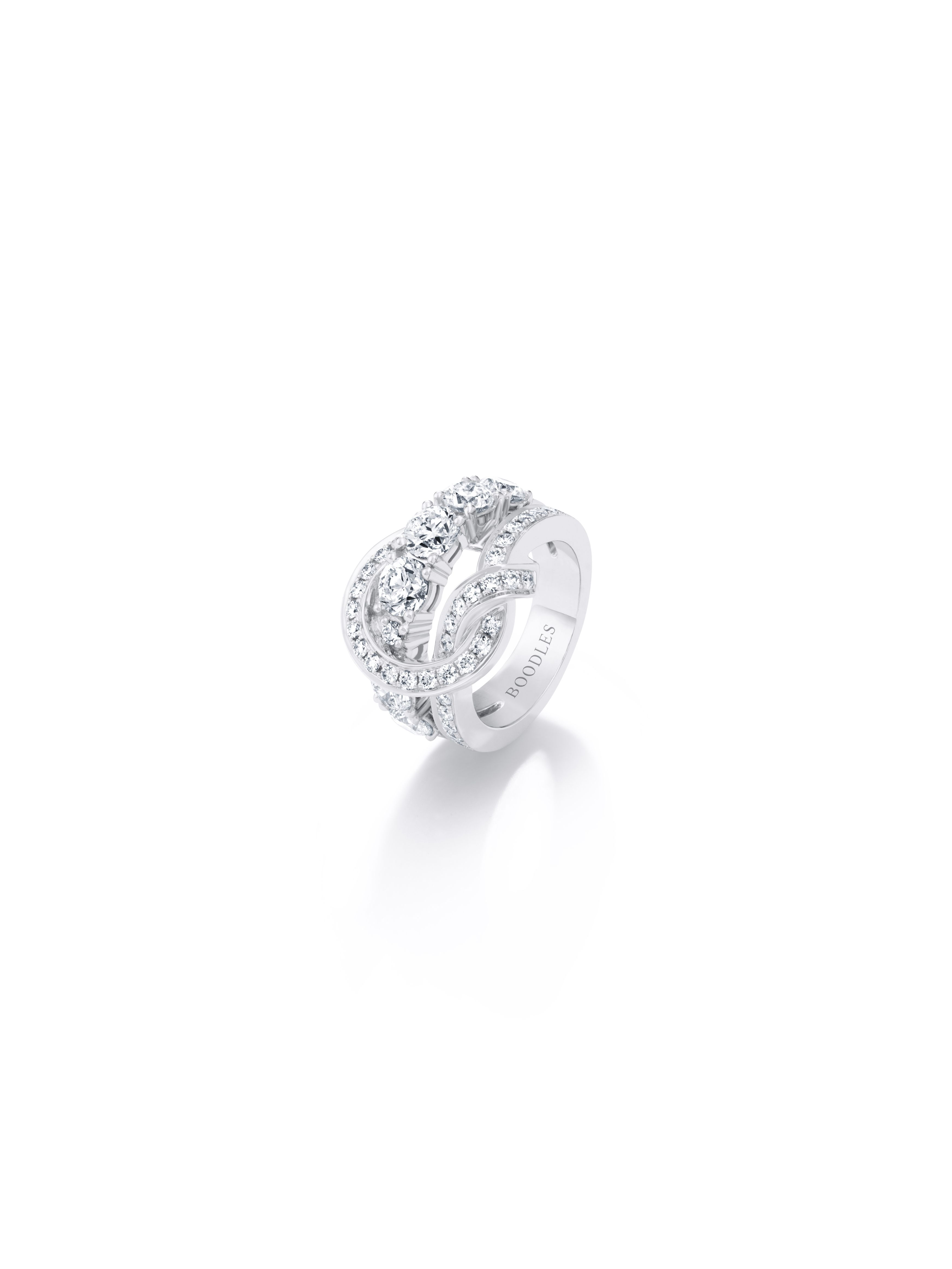 a13f95a57 'The Knot' ring by Boodles www.boodles.com/knot-white-gold-diamond-ring-large.html.  '