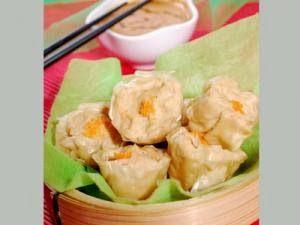 Resep Siomay Udang Ayam Ala Master Chef Juna Saos Kacang Khas Bandung Resep Masakan Masakan Resep Makanan