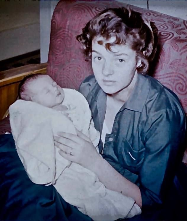 JeriLyn and RaeJean 1955