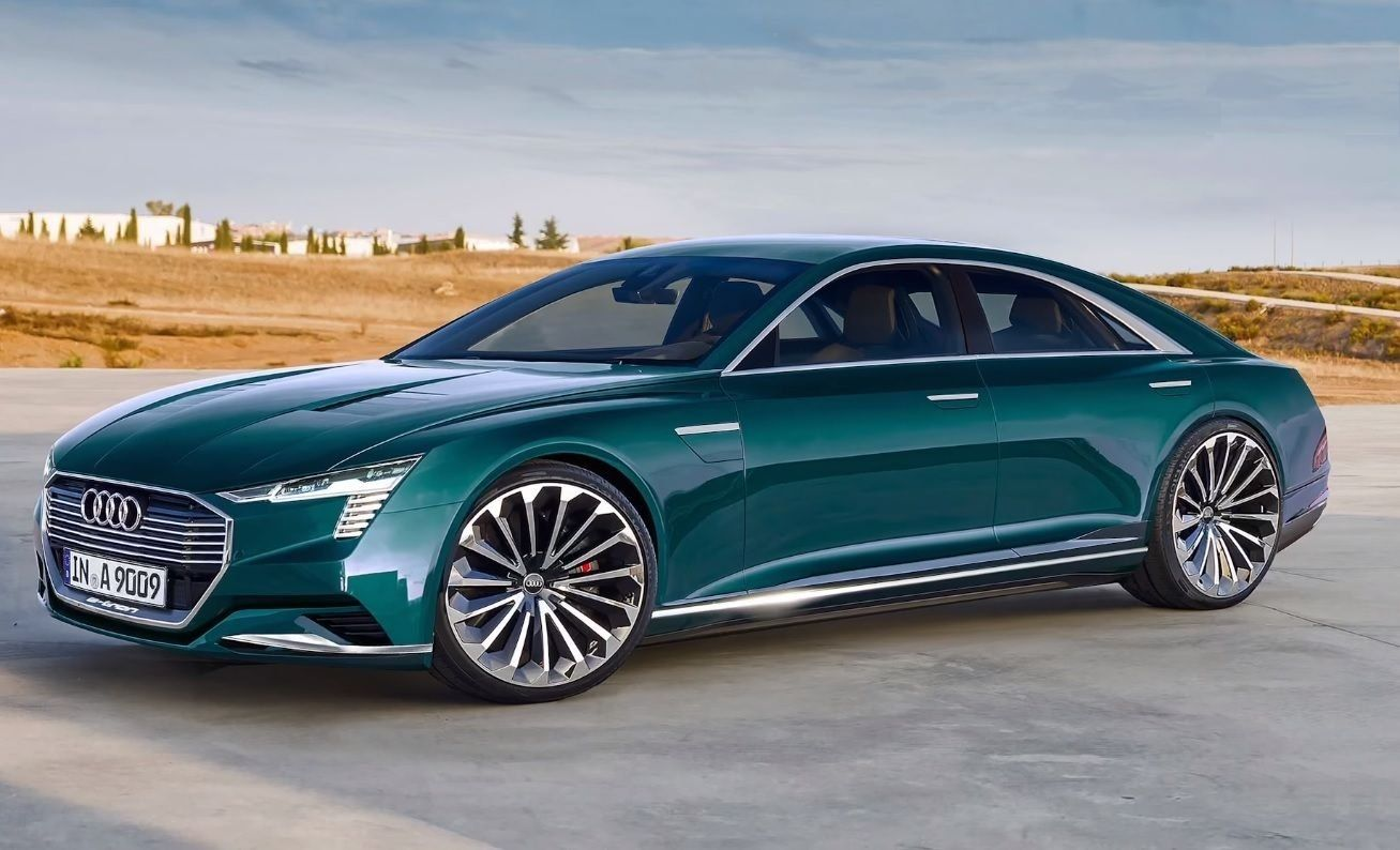 2020 Audi A9 Concept Exterior and Interior