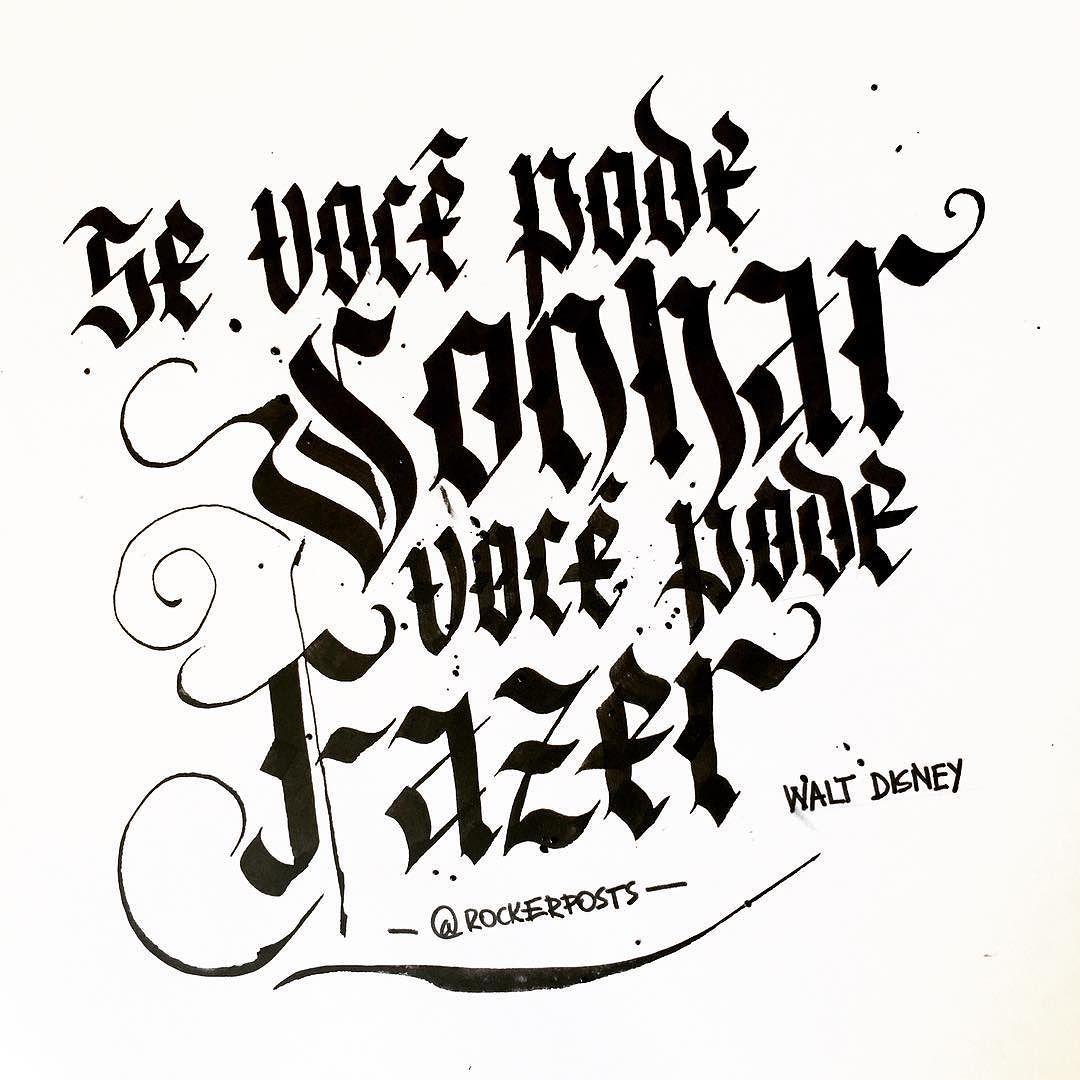 """""""Se você pode sonhar você pode fazer""""  #waltdisney #quotes #frases #inspiração"""