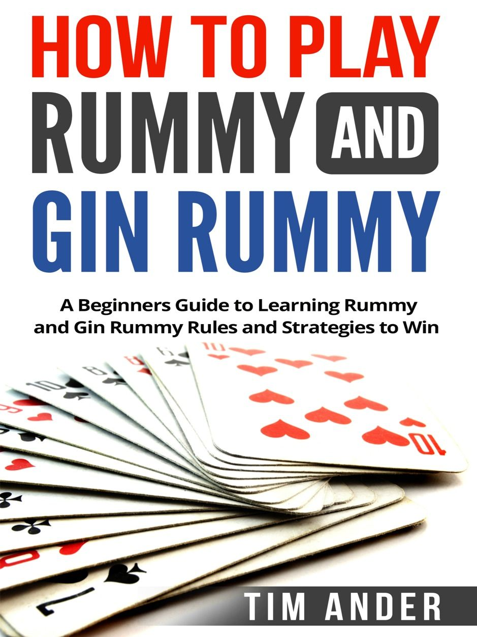 How to Play Rummy and Gin Rummy , AD, Gin, books,