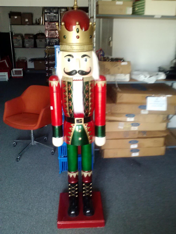 6 Foot Tall Nutcracker | Nutcracker christmas, Christmas ...