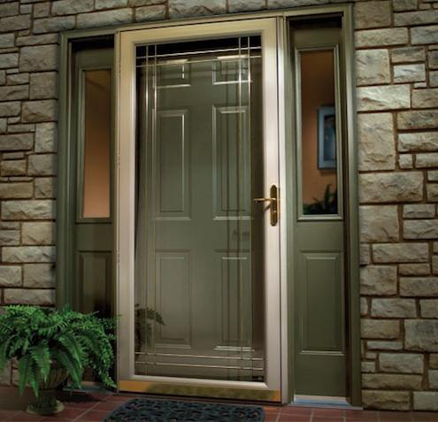 Installing storm doors bob vila 39 s blogs storm doors for Insulated storm doors