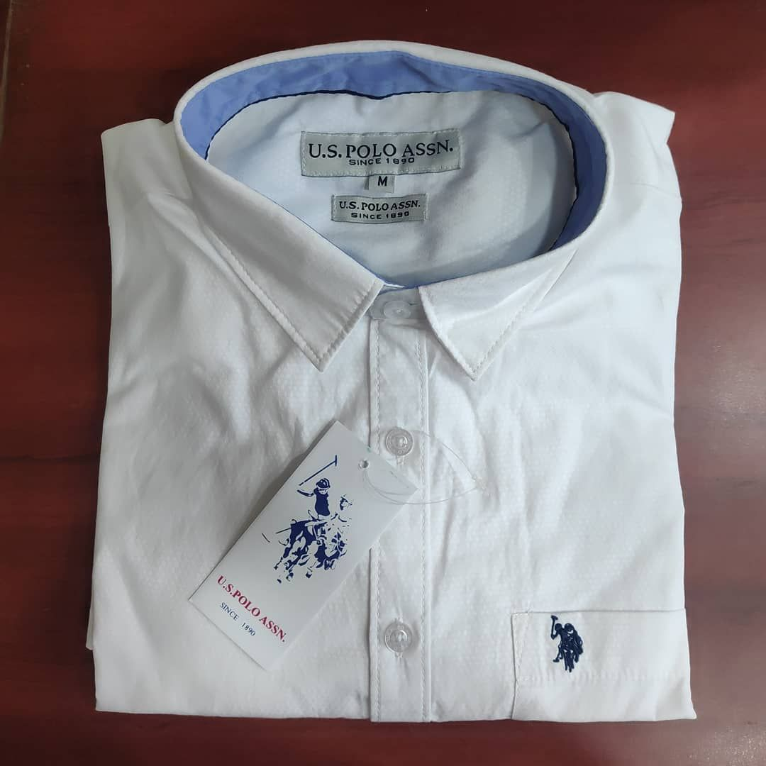 U S Polo Assn Full Sleeves Shirt Size M L Xl Xxl Dm For Price No Cod All Over India Delivery Fullsleeves Shirt Tr Shirts Clothing Brand Shirt Sleeves