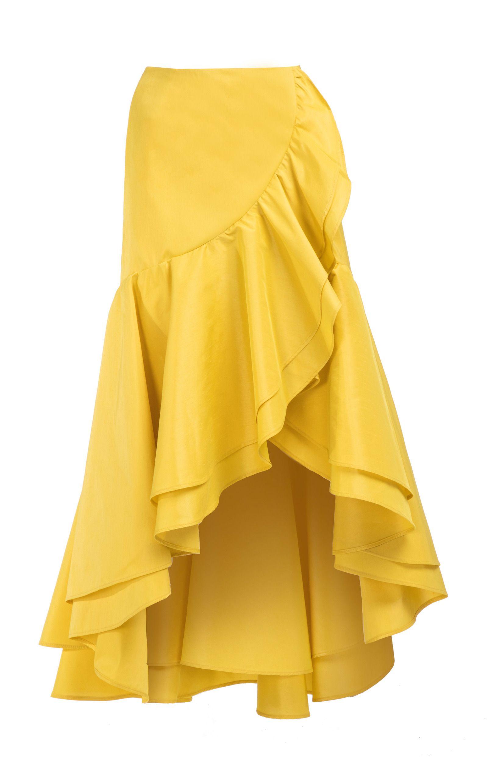 73e3049959 The Ruffles Skirt by VANINA for Preorder on Moda Operandi Falda Olanes