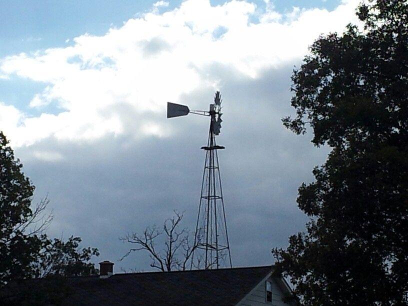 Amish windmill