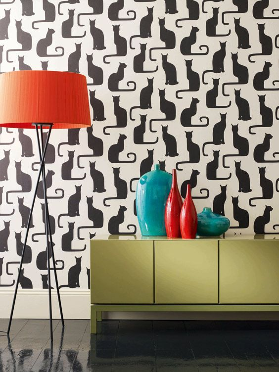 Omega Cat Wallpaper From Sanderson If I Wanted A Modern House This