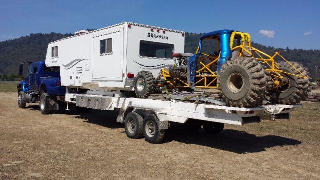 Toy Hauler 5th Wheel Travel Trailers Campers Kamloops