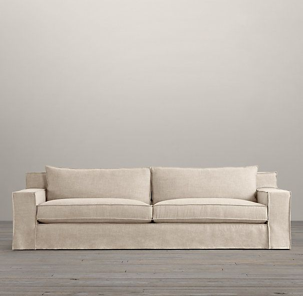 8 slipcovered sleeper sofa sleepers restoration hardware remodel