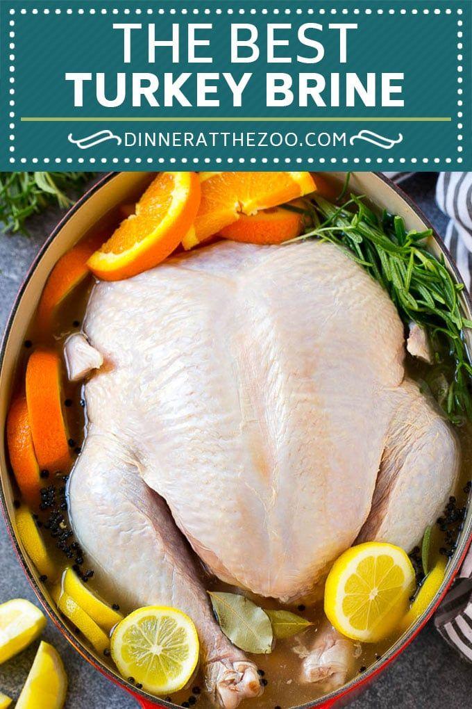 Turkey Brine Recipe - Dinner at the Zoo