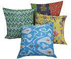 Wholesale Lot 5pc Kantha Cushion Cover Cotton Pillow Covers Handmade Decor India Pakke med selvvalgte 5 pudebetræk (40x40)