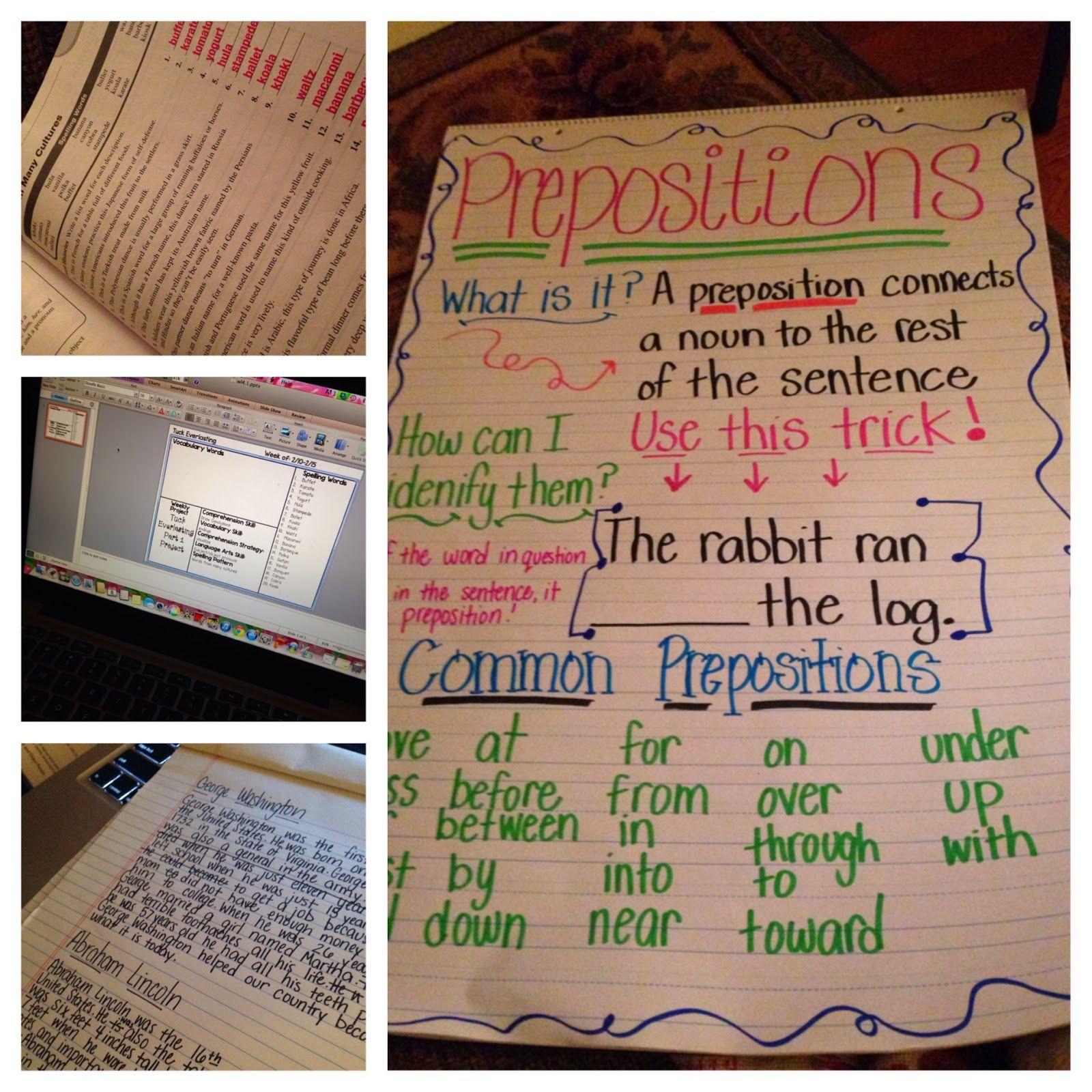 small resolution of 16 Prepositions in 5th grade ideas   prepositions