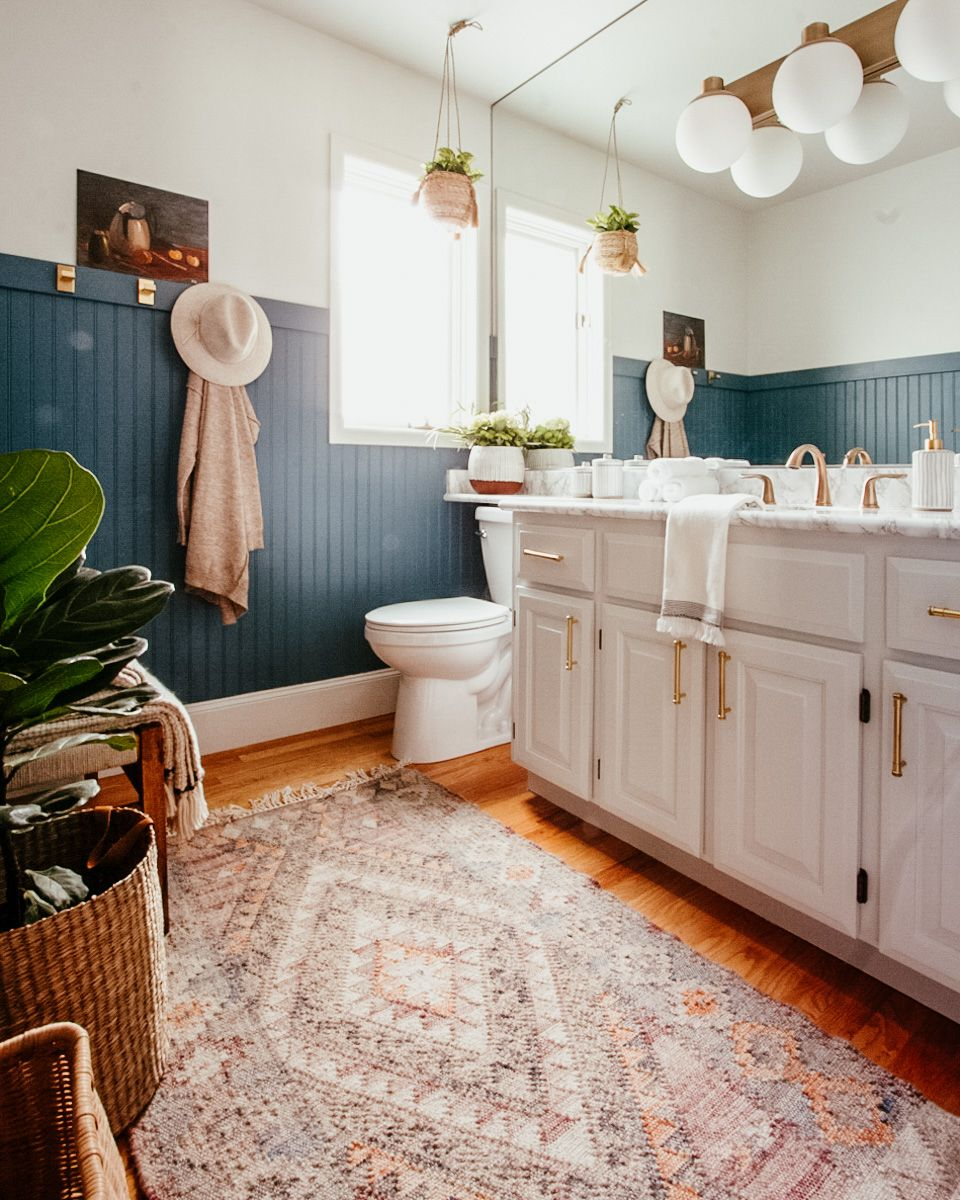 Photo of DIY Beadboard Wall and Guest Bathroom Reveal