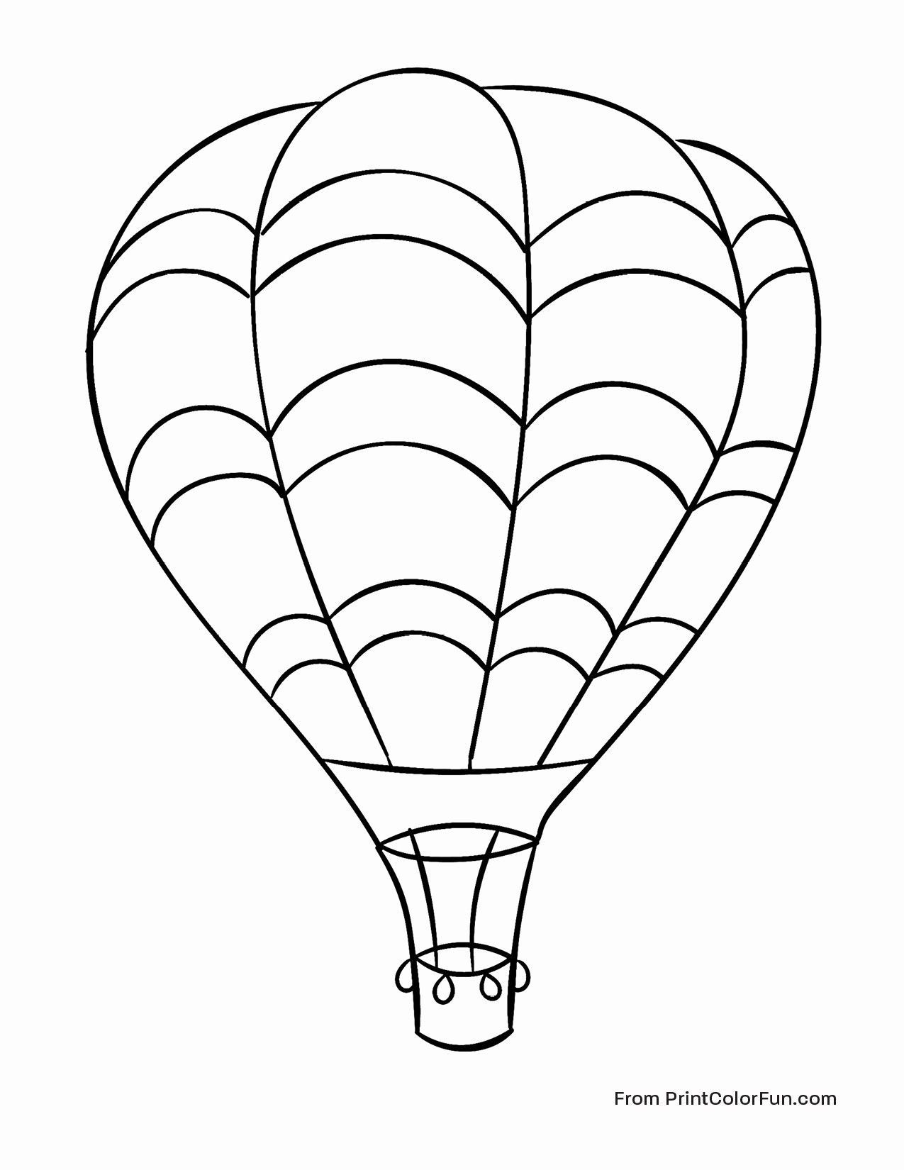Related Image Air Balloon Hot Air Balloon Unique Coloring Pages