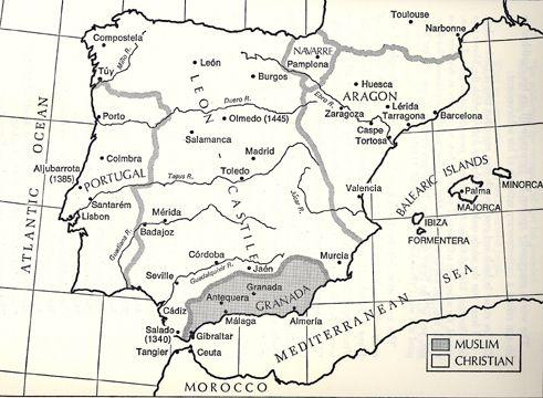 Granada Kingdom Map