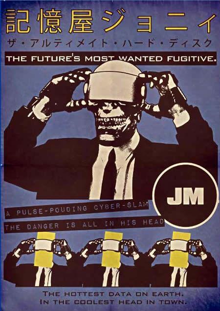 Johnny Mnemonic Poster