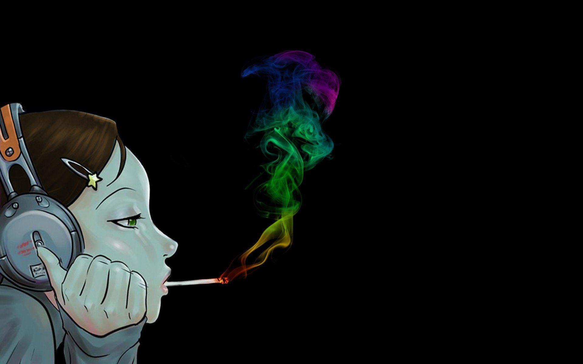 Wiz Khalifa Smoking Wallpaper