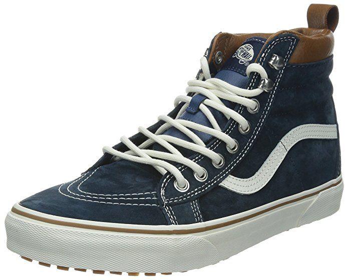Amazon.com | Vans Sk8-Hi Unisex Casual High-Top Skate Shoes,