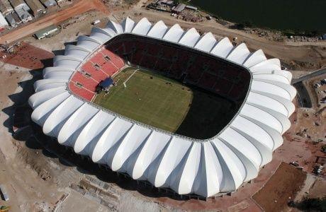 Nelson Mandela Bay Stadium Port Elizabeth South Africa South Africa Travel Membrane Roof Port Elizabeth