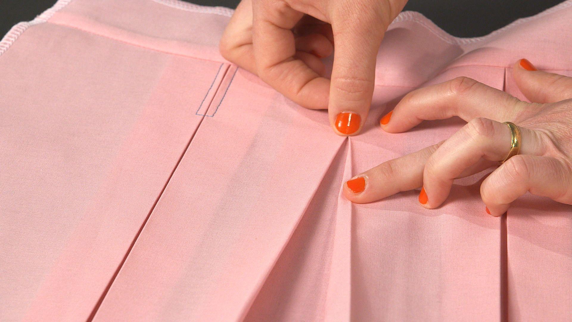 Fabuleux Technique couture : le pli creux | Astuces Couture | Pinterest  FK94